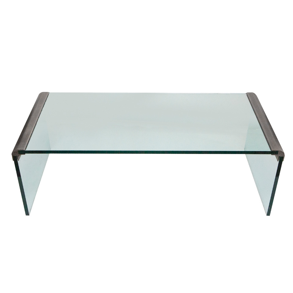 Charmant Custom Brushed Nickel And Glass U201cWaterfallu201d Coffee Table By Leon Rosen And  Manufactured By Pace Collection In The 1970u0027s. Glass May Be Customized For  A ...